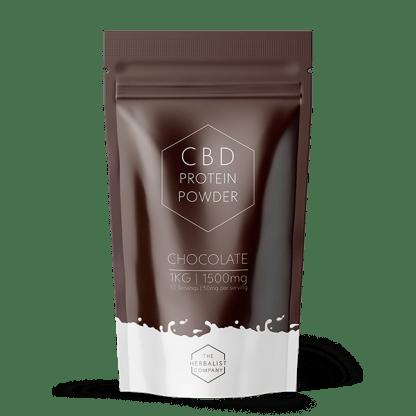 CBD Protein Powder, Chocolate flavour 1kg