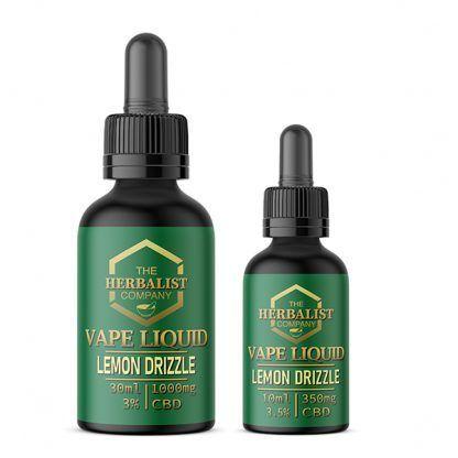 Lemon Drizzle CBD E Liquid Vape UK