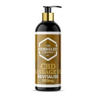 cbd revitalise massage oil uk