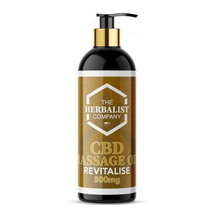 cbd revitalise massage oil uk
