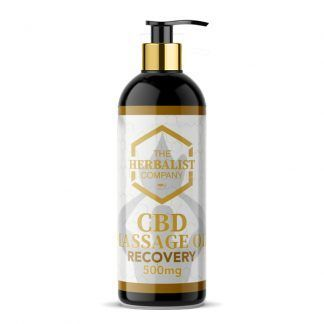CBD recovery massage oil uk
