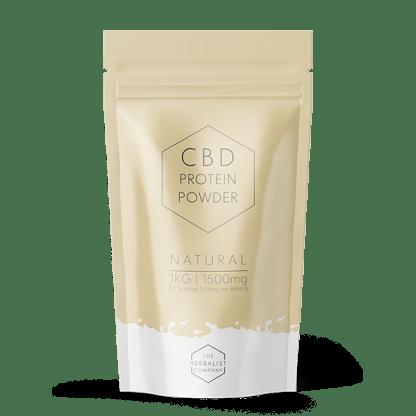 Natural flavoured CBD Protein Powder 1k g