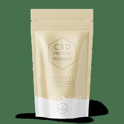Natural flavoured CBD Protein Powder 250g