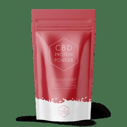 Strawberry flavoured CBD Protein Powder 250g