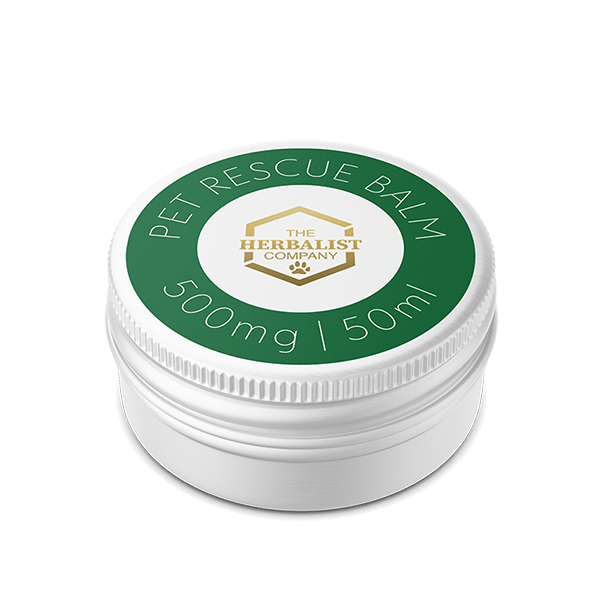 CBD pet balm for pads and paws