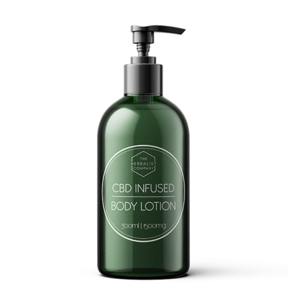 CBD body cream 300ml - 1500mg for smooth skin